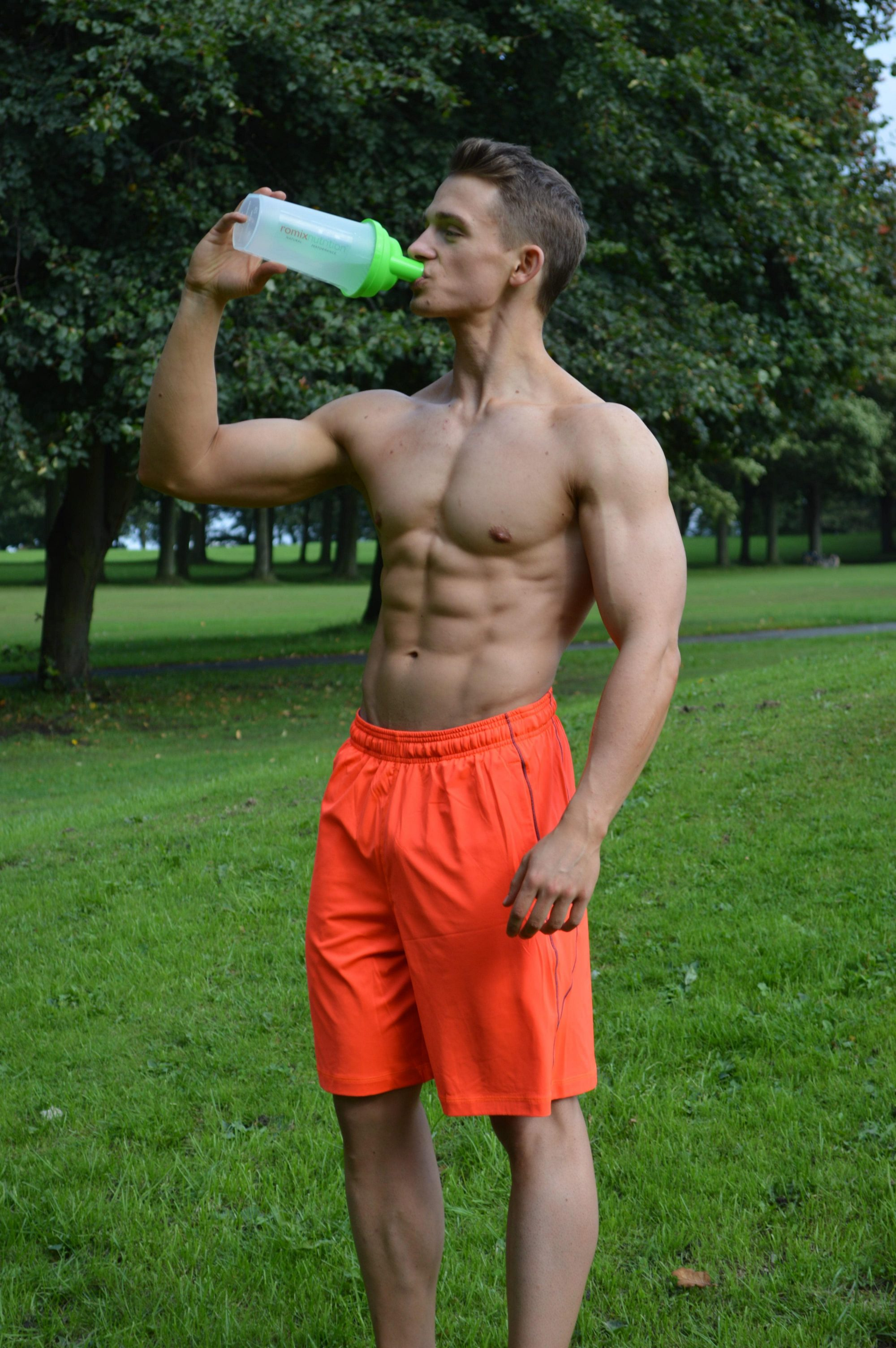 Romix Nutrition Model with Drink